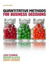 QUANTITATIVE METHODS FOR BUSINESS DECISI