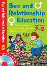 Sex and Relationships Education 7-9 Plus CD-ROM