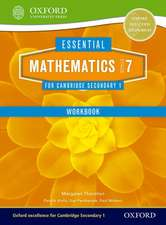 Essential Mathematics for Cambridge Lower Secondary Stage 7 Work Book