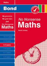 Bond No Nonsense Maths 8-9 Years