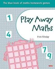 Play Away Maths - The blue book of maths homework games Y5/P6 (x10)