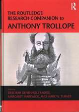 The Ashgate Research Companion to Anthony Trollope