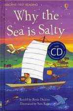 Dickins, R: Why the Sea is Salty [Book with CD]