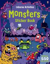 Monsters Sticker Book