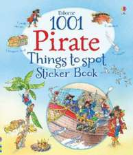 1001 Pirate Things to Spot Sticker Book