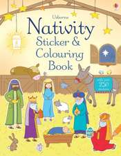 Brooks, F: Nativity Sticker and Colouring Book