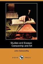 Studies and Essays: Censorship and Art (Dodo Press)