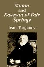 Mumu and Kassyan of Fair Springs