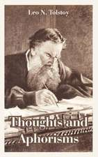 Thoughts and Aphorisms