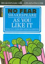 As You Like It (No Fear Shakespeare):  2012 Latin America and Canada