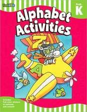 Alphabet Activities:  Grade Prek-K (Flash Skills)