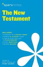 New Testament Sparknotes Literature Guide