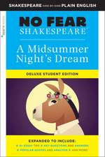 Midsummer Night's Dream: No Fear Shakespeare Deluxe Student Edition