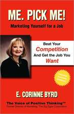 Me. Pick Me! Marketing Yourself for a Job