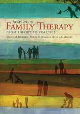 Readings in Family Therapy: From Theory to Practice