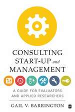 Consulting Start-Up and Management