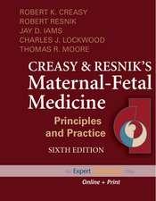 Creasy and Resnik's Maternal-Fetal Medicine