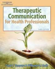 Therapeutic Communications for Health Care [With CDROM]:  Step by Step Spa Procedures