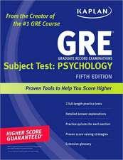 Kaplan GRE Subject Test: Psychology