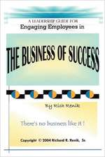Engaging Employees in the Business of Success:  A Revolutionary New Method for Stress/Trauma Recovery.