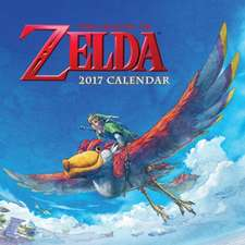 The Legend of Zelda 2017 Wall Calendar:  Awe-Inspiring Places from Around the World