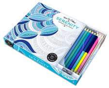 Vive Le Color! Serenity:  Color Therapy Kit [With Pens/Pencils]