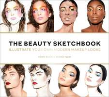 The Beauty Sketchbook (Guided Sketchbook): Illustrate Your Own Modern Makeup Looks