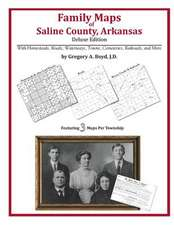 Family Maps of Saline County, Arkansas