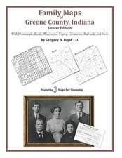 Family Maps of Greene County, Indiana