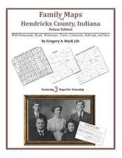 Family Maps of Hendricks County, Indiana
