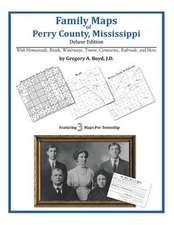 Family Maps of Perry County, Mississippi