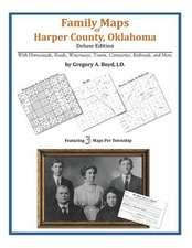 Family Maps of Harper County, Oklahoma