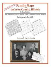 Family Maps of Jackson County, Illinois