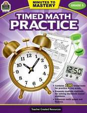 Minutes to Mastery-Timed Math Practice Grade 5