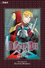 D.Gray-man (3-in-1 Edition), Vol. 6: Includes Volumes 16, 17 & 18