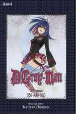 D.Gray-man (3-in-1 Edition), Vol. 8