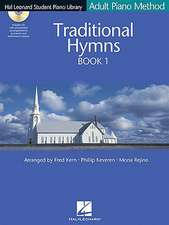 Traditional Hymns Book 1 - Book/CD Pack:  Hal Leonard Student Piano Library Adult Piano Method