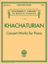 Concert Works for Piano: Schirmer Library of Classics Volume 2086
