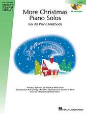 More Christmas Piano Solos for All Piano Methods, Level 4 [With CD (Audio)]