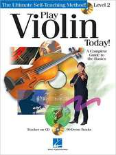 Play Violin Today] Level 2 (Book/CD)