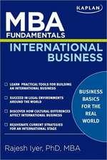 MBA Fundamentals International Business