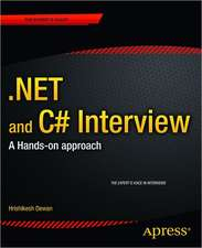 .NET and C# Interview: A Hands-on approach