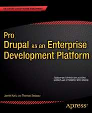 Pro Drupal as an Enterprise Development Platform
