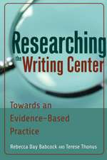 Researching the Writing Center