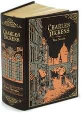Charles Dickens (Barnes & Noble Collectible Classics: Omnibus Edition): Letherbound. Ediţie de colecţie