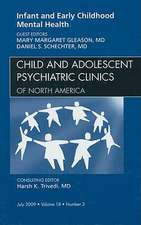 Infant and Early Childhood Mental Health, An Issue of Child and Adolescent Psychiatric Clinics of North America