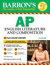 Barron's AP English Literature & Composition with online tests