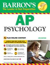 Barron's AP Psychology, with online tests