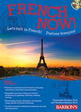 Barron's French Now! Level 1 [With 3 CDs]:  Breathtaking New Pictures, Recreated with Digital Technology [With CDROM]