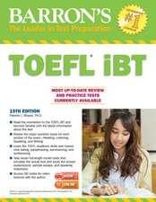 Barron's TOEFL Ibt with MP3 Audio CDs 15th Edition:  U.S. History [With CDROM]